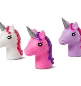 Unicorn Finger Puppet - asst. colors (sold separately)