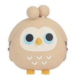 3D Pochi Bit Friends Owl- Beige