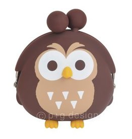 3D Pochi Bit Friends Owl- Brown