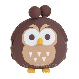 3D Pochi Bit Friends Owl- Brown