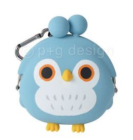 3D Pochi Bit Friends Owl- Blue