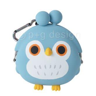3D Pochi Bit Friends Owl- Blue