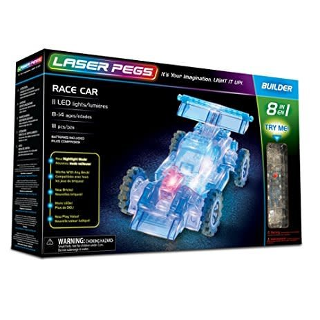 Laser Pegs Builder - Race Car 8in1
