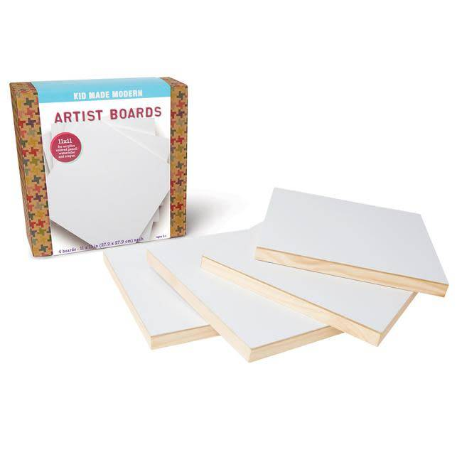 kid made modern Artist Boards
