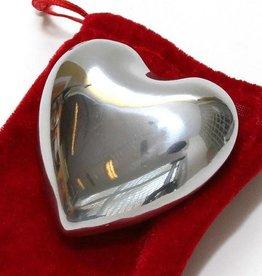 Tesoros Trading Company Tesoros Nickel Heart with Bell - Large