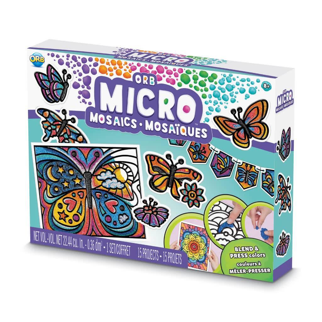 Orb Micro Mosaics- Butterflies