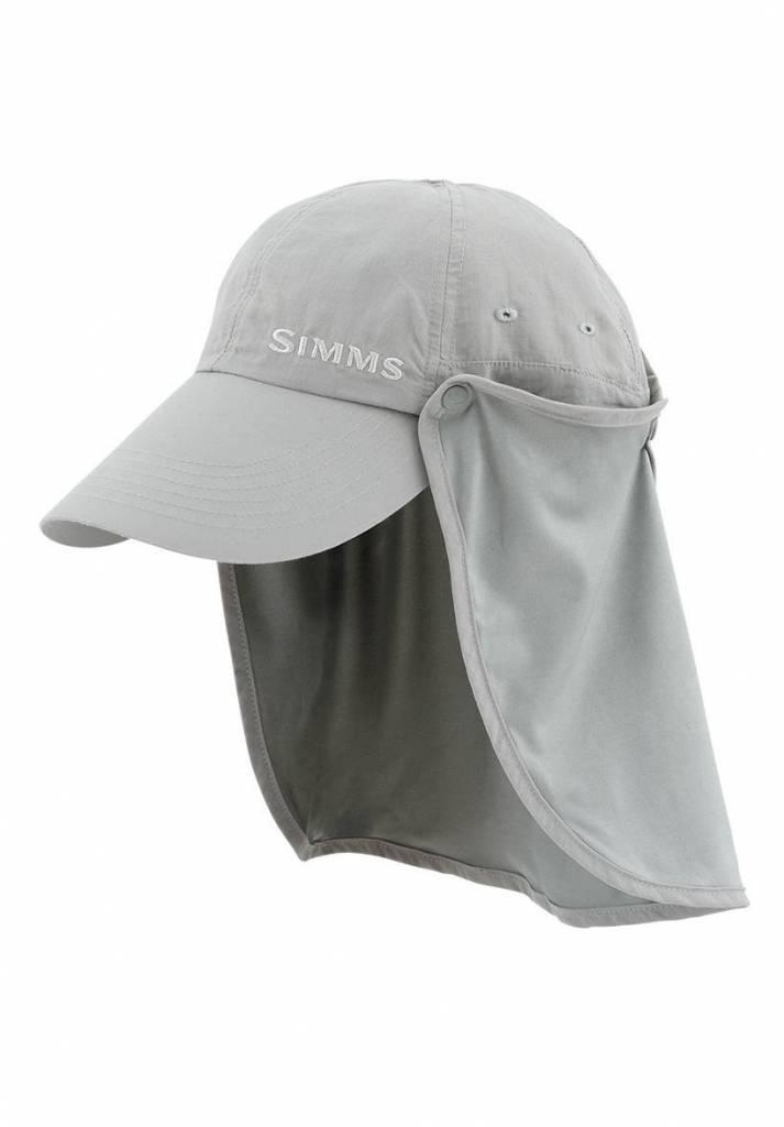 Simms Bugstopper Sunshield Hat Smoke