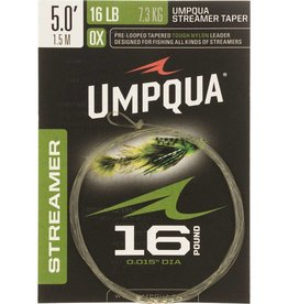 Umpqua Feather Merchants Streamer taper Leader 5' 16LB