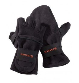 Simms Fishing Freestone Foldover Mitt Black