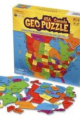 Geo Puzzle USA & Canada
