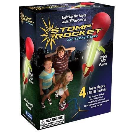 Ultra LED Stomp Rocket