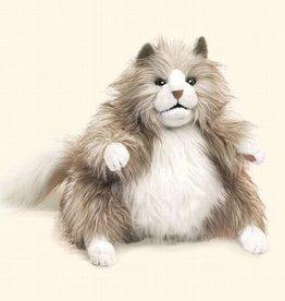 Fluffy Cat Puppet
