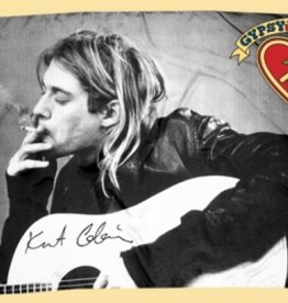 KURT COBAIN CIGARETTE ACOUSTIC FABRIC POSTER