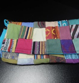 Patchwork Clutch Bag