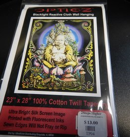 Budda Blacklight Tapestry