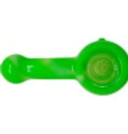 Silicone Spoon w. Glass Screen - Glow in Dark