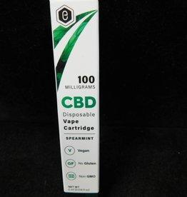 100mg CBD Vape Cartridge - Spearmint