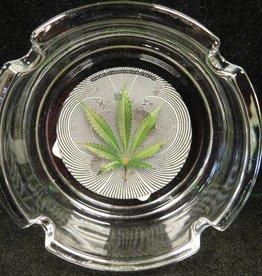 OP Leaf - Glass Ashtray