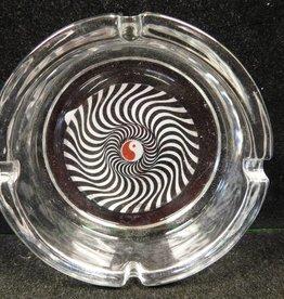 Yin & Yang - Glass Ashtray