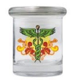 Cannaline Jar - Medical Symbol - 1/4oz