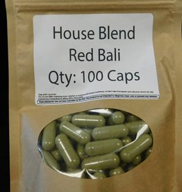 Red Bali Kratom - 100ct - 1g Capsule