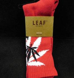 Red/White Socks - Leafs