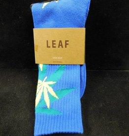 Socks - Leafs - Blue/Green