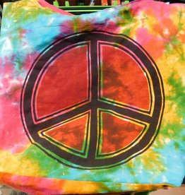Shoulder Bag - Tye Dye Peace