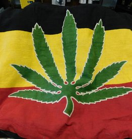 Shoulder Bag - Rasta Leaf