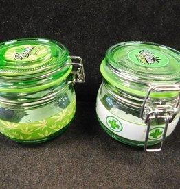 Apothecary Jar Green Leaf - 150ml