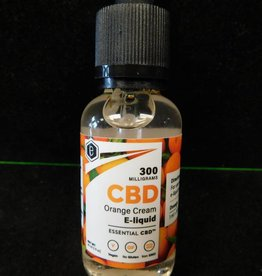 E-Juice 300mg CBD - Orange Cream