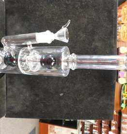 Double Chamber Waterpipe -Black