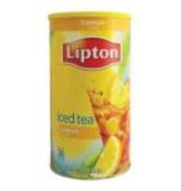 5lb 15.7oz Lipton Iced Tea Drink Mix Security Container