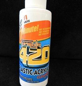 4oz Formula 420 Plastic Acrylic Cleaner