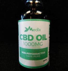 Medix CBD Oil - 1000mg - 30ml