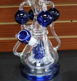 Blue Quad Recycler - Waterpipe