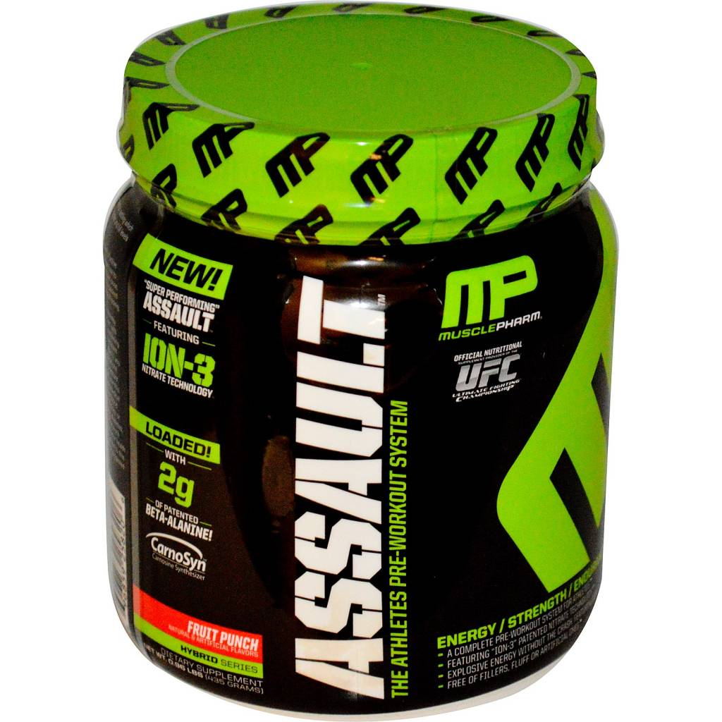 Muscle Pharm Assualt Fruit Punch