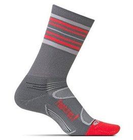 Feetures Elite Crew Medium Black Socks