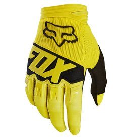 Fox Fox Dirtpaw Race Glove Yellow