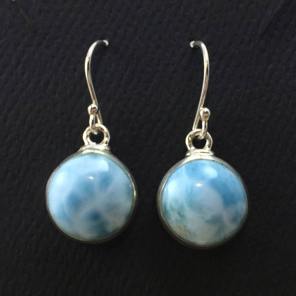 TWS Larimar Bubble Earrings