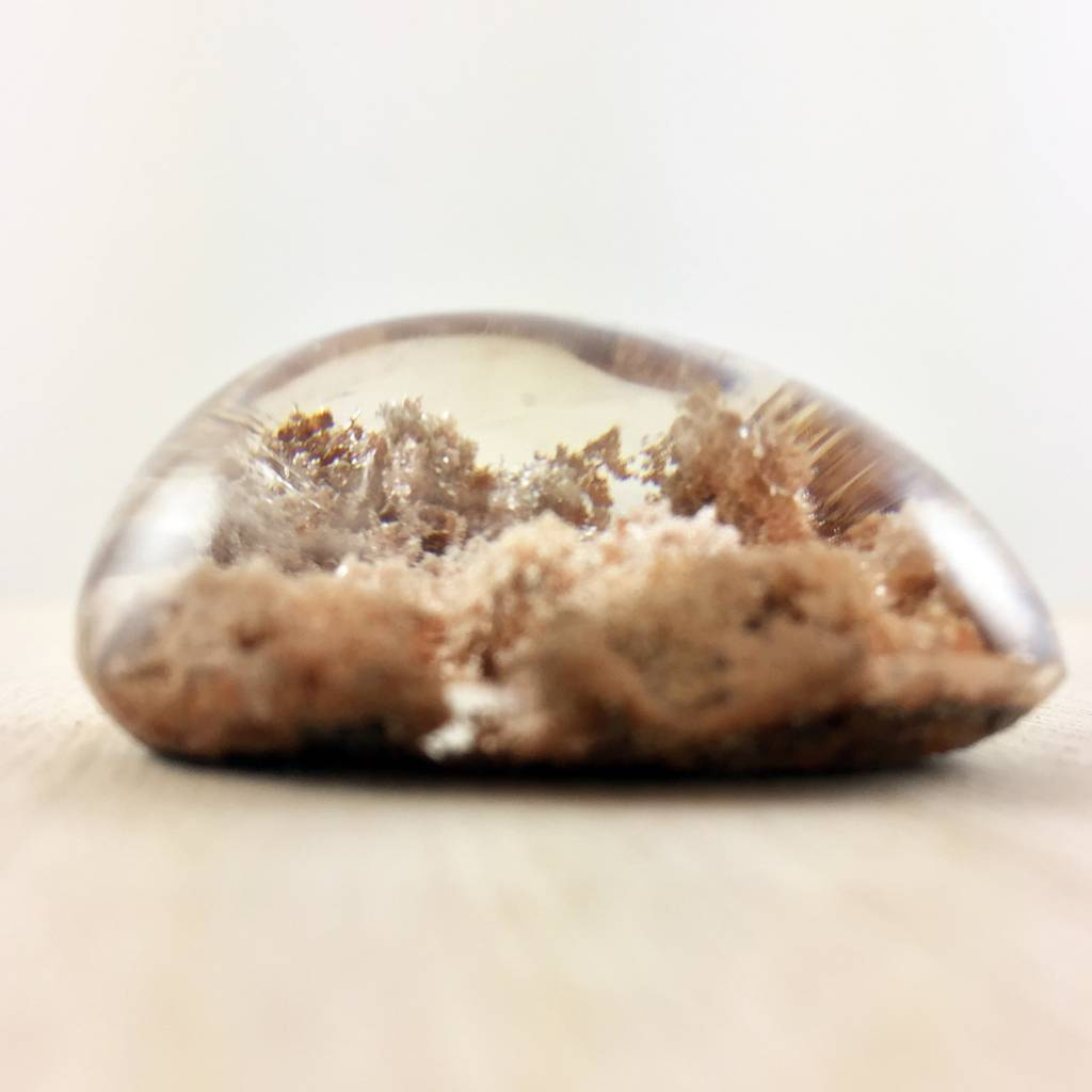 Lodolite Bubble, 38mm - Cream Clouds