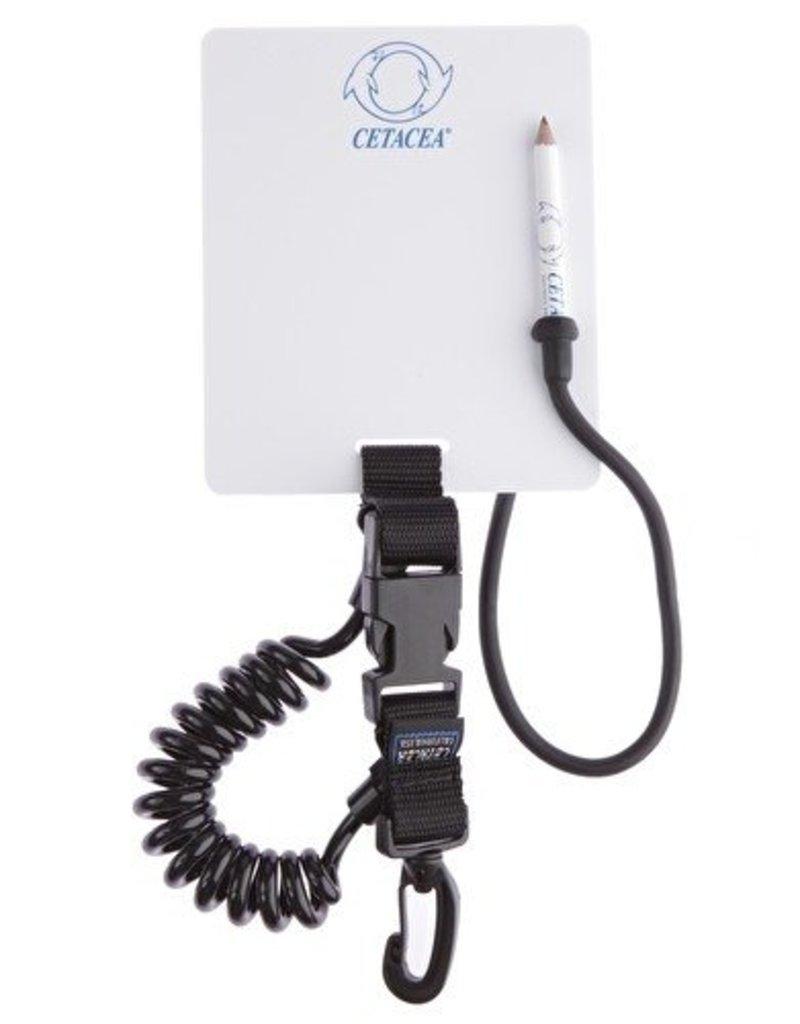 Cetacea Standard Slate w/BC Mini Retractor Black