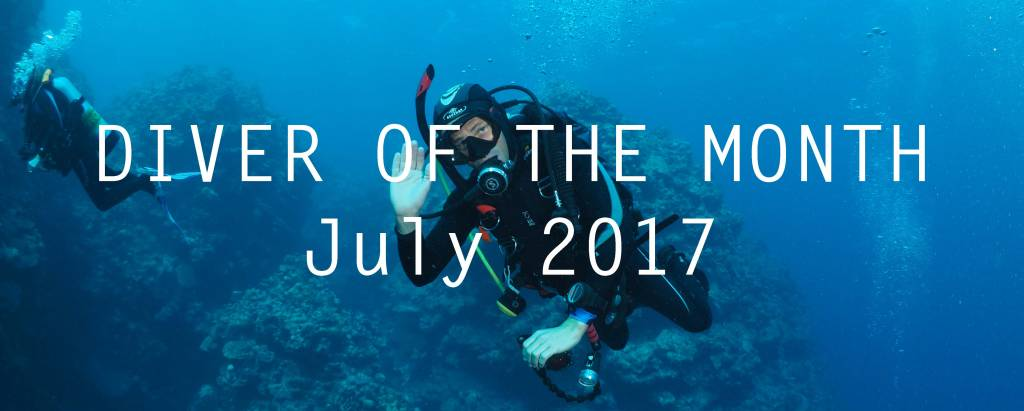 Diver of the Month: July 2017