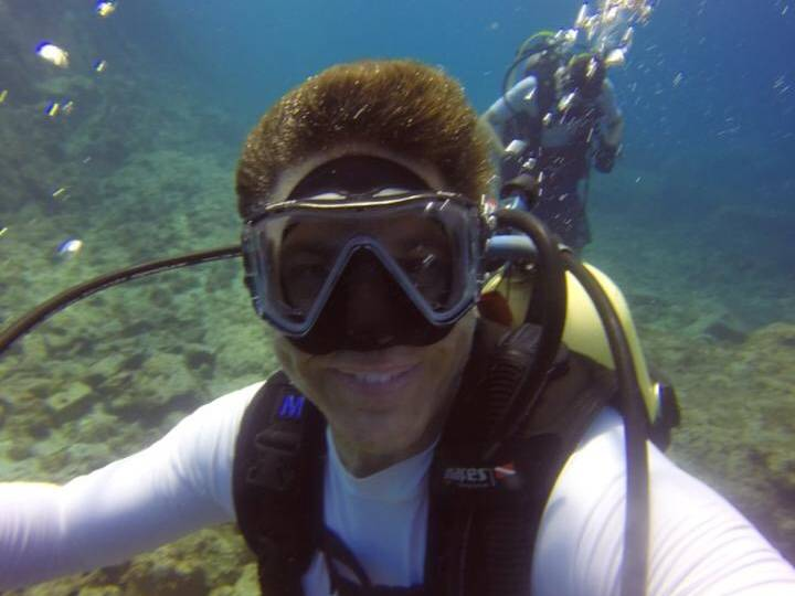 A Divemaster in the Making