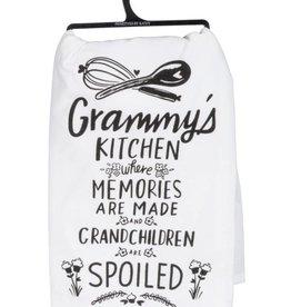 primitives by kathy Grammy's Kitchen Humorous Towel