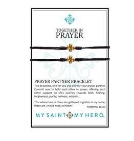 my saint my hero Together In Prayer Bracelets