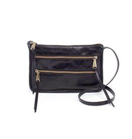 hobo Mission Chic Crossbody - Black