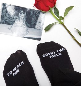 8 Oak Lane Father of the Bride Socks