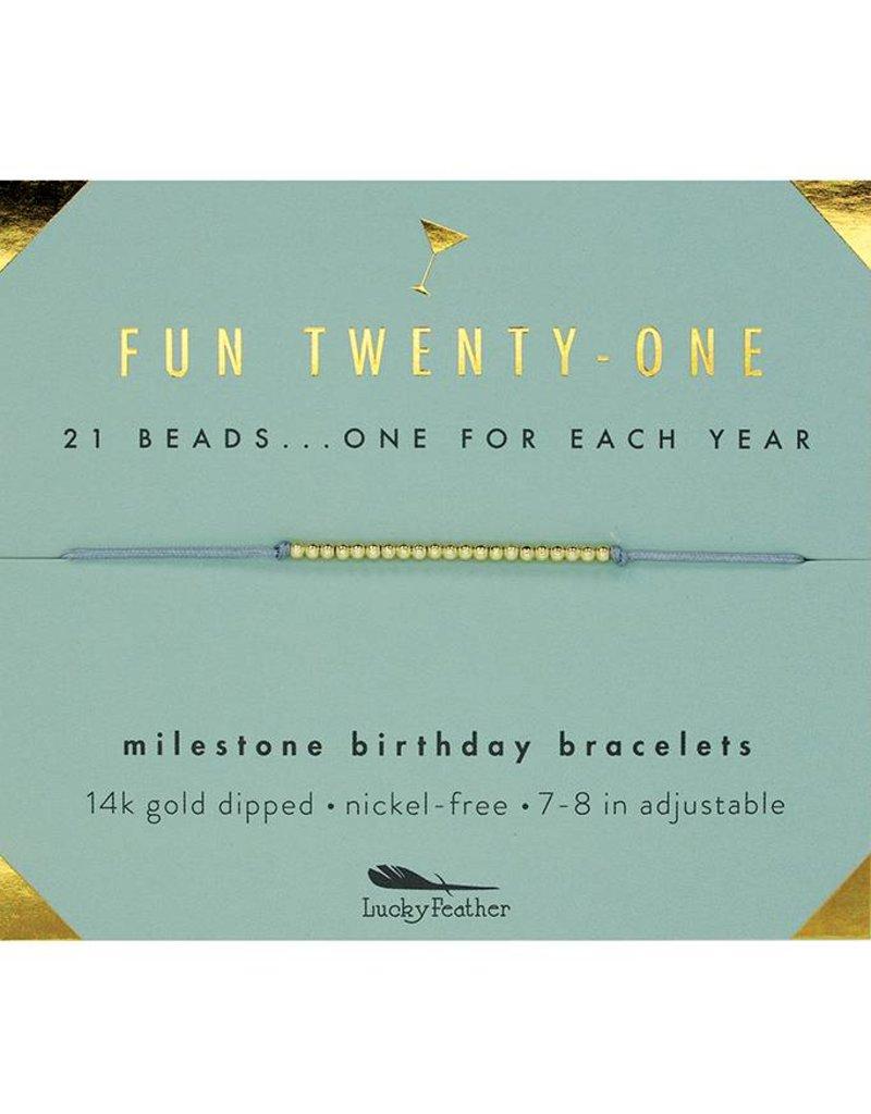 milestone birthday bracelets the busy b