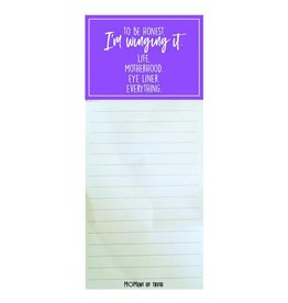Mary Square Winging It Notepad